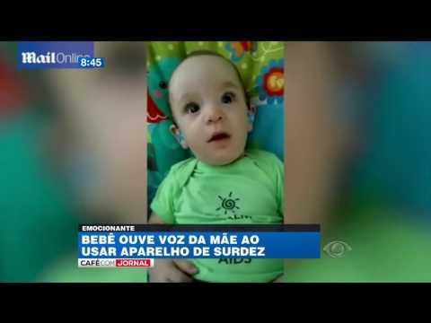 Ver vídeo - Bebé surdo ouve a voz da mãe pela primeira vez!