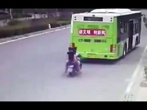 Ver vídeo - Momentos de perigo captados por câmaras!