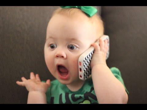 """Ver vídeo - Crianças a """"conversar"""" ao telemóvel. Muito interessante!"""